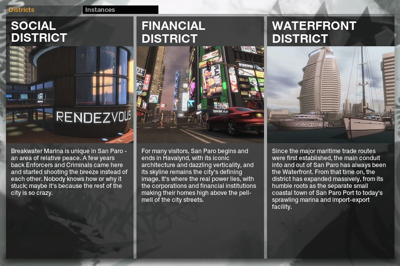 The Social District Looks Fine And Has A Few Cool Features To Boot It Reminds Me Of The Few Things That Dont About Second Life In That Players Can