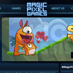 Magic Pixel Games Website
